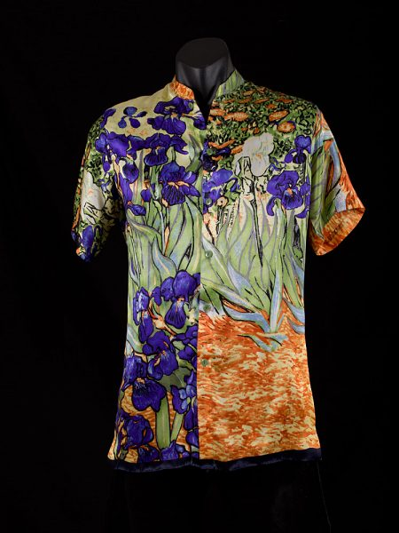 mens-shirt-irises-blue-front