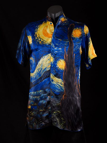 mens-shirt-starry-night-front
